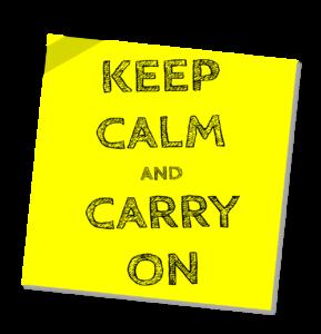 Keep, Calm